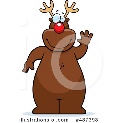 Rudolph Clipart #437393 by Cory Thoman