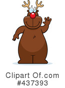 Royalty-Free (RF) Rudolph Clipart Illustration #437393