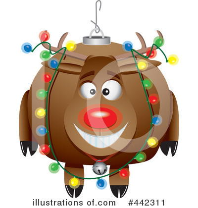 Reindeer Clipart #442311 by toonaday