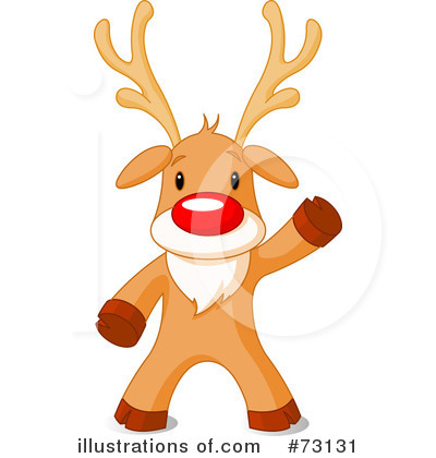 Rudolph Clipart #73131 by Pushkin