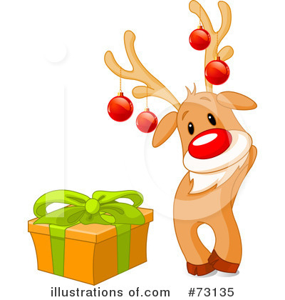Rudolph Clipart #73135 by Pushkin