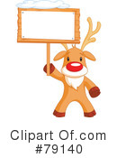 Royalty-Free (RF) Rudolph Clipart Illustration #79140