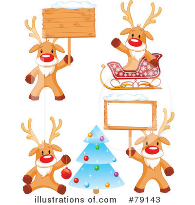 Rudolph Clipart #79143 by Pushkin