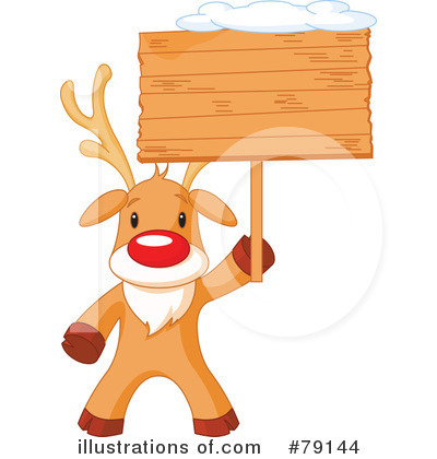Rudolph Clipart #79144 by Pushkin