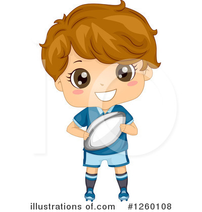 Rugby Clipart #1260108 by BNP Design Studio