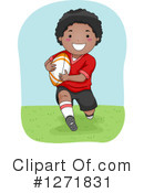 Rugby Clipart #1271831 by BNP Design Studio