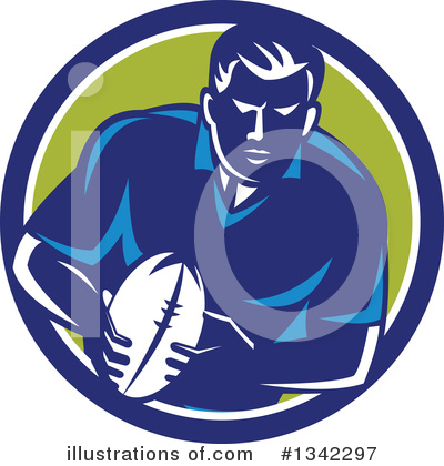 Rugby Clipart #1342297 by patrimonio