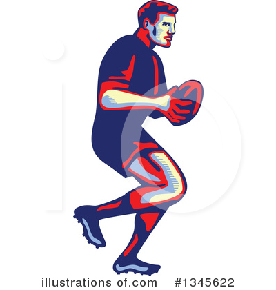 Rugby Clipart #1345622 by patrimonio