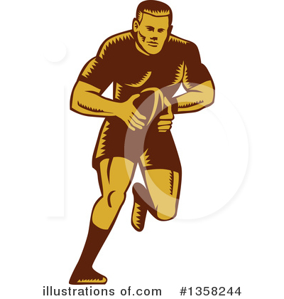 Rugby Clipart #1358244 by patrimonio