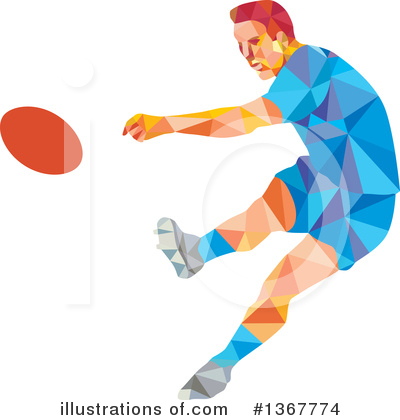Rugby Clipart #1367774 by patrimonio