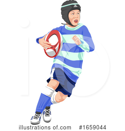 Royalty-Free (RF) Rugby Clipart Illustration by Morphart Creations - Stock Sample #1659044