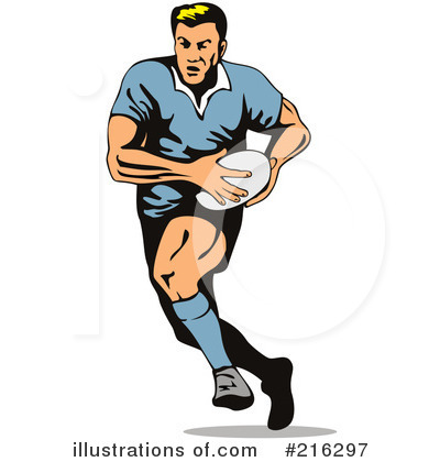 rugby clipart 216297 illustration by patrimonio rh illustrationsof com rugby clipart png rugby clipart black and white