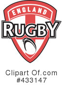Rugby Clipart #433147 by patrimonio