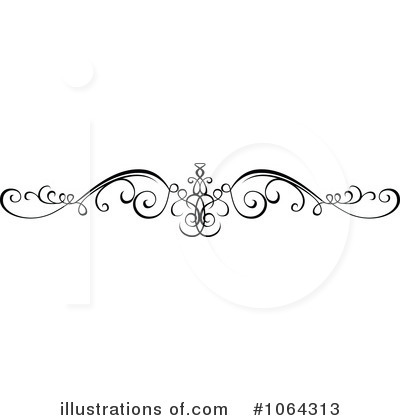 Calligraphic Clipart #1064313 by dero
