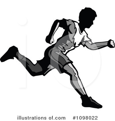 Track And Field Clipart #1098022 by Chromaco