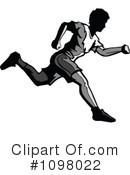 Royalty-Free (RF) Runner Clipart Illustration #1098022