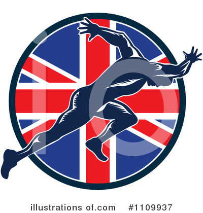 Track And Field Clipart #1109937 by patrimonio