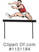 Royalty-Free (RF) Runner Clipart Illustration #1131184