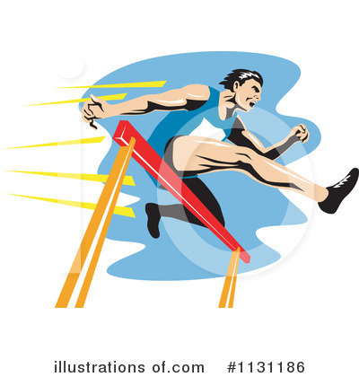 Track And Field Clipart #1131186 by patrimonio