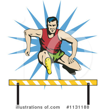 Royalty free rf runner clipart illustration by patrimonio stock