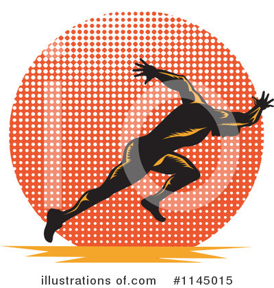 Track And Field Clipart #1145015 by patrimonio