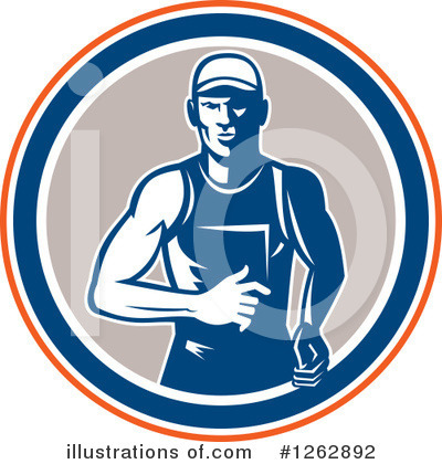 Track And Field Clipart #1262892 by patrimonio