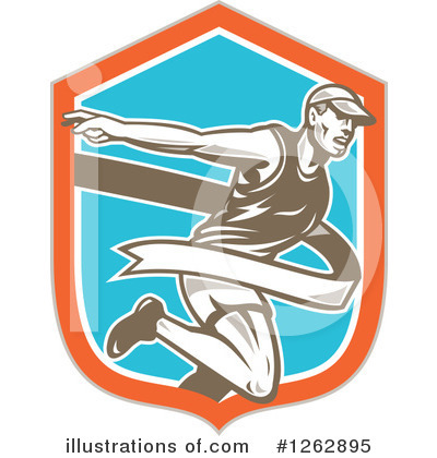 Track And Field Clipart #1262895 by patrimonio