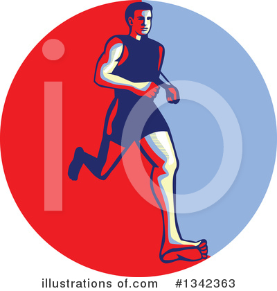 Runner Clipart #1342363 by patrimonio