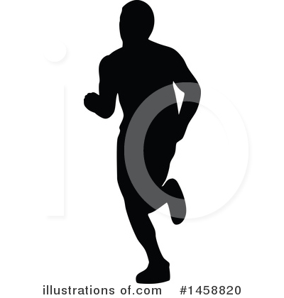 Royalty-Free (RF) Runner Clipart Illustration by patrimonio - Stock Sample #1458820