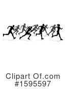 Runner Clipart #1595597 by AtStockIllustration
