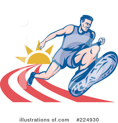 Track And Field Clipart #224930 by patrimonio