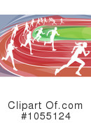 Royalty-Free (RF) Runners Clipart Illustration #1055124