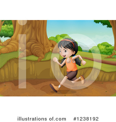 Trail Clipart #1238192 by Graphics RF