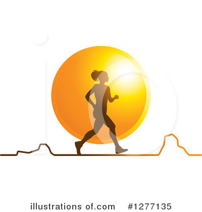 Jogging Clipart #1277135 by Lal Perera