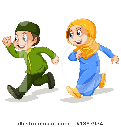 Couple Clipart #1367934 by Graphics RF