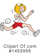 Running Clipart #1453956 by Johnny Sajem