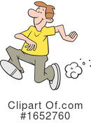 Running Clipart #1652760 by Johnny Sajem