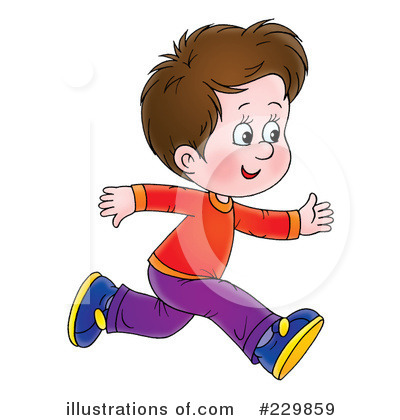Running Clipart #229859 - Illustration by Alex Bannykh