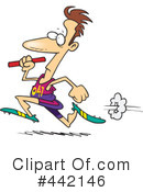 Running Clipart #442146 by toonaday