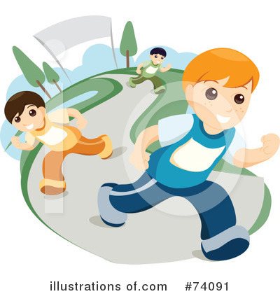 Track And Field Clipart #74091 by BNP Design Studio