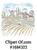 Rural Clipart #1684322 by Domenico Condello