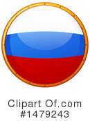 Russian Flag Clipart #1479243 by Graphics RF