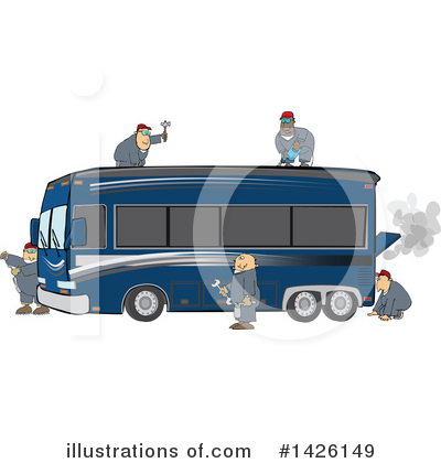 Mechanic Clipart #1426149 by djart