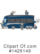 Royalty-Free (RF) Rv Clipart Illustration #1426149