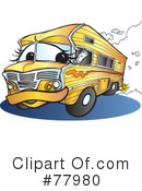 Royalty-Free (RF) rv Clipart Illustration #77980