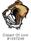 Royalty-Free (RF) Saber Tooth Clipart Illustration #1097246
