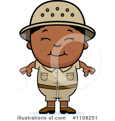 Black Boy Clipart #1108251 by Cory Thoman