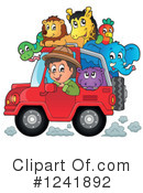 Royalty-Free (RF) Safari Clipart Illustration #1241892