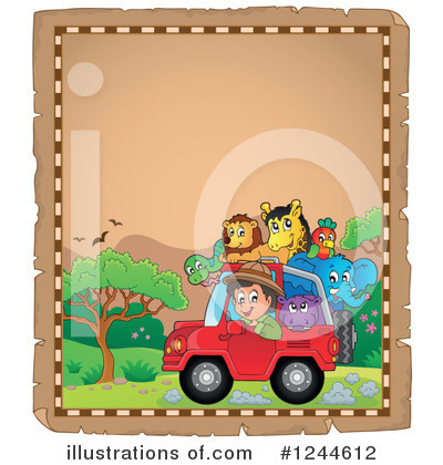 Jeep Clipart #1244612 by visekart