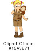 Royalty-Free (RF) Safari Clipart Illustration #1249271